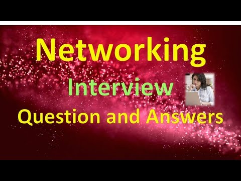 Networking Interview Question and Answers