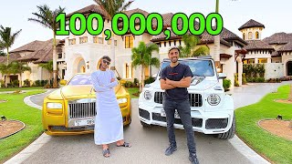 Meet Dubai's RICHEST Kid , $100 Million Mansion Tour (18 years old)