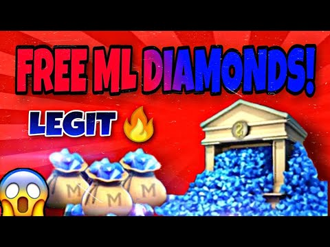 SECRET TO GET FREE DIAMOND In Mobile Legends Bang Bang Using This App(Get Up To 400 Diamonds Or Load