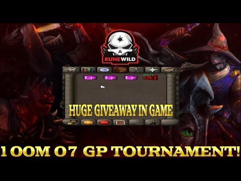 PK Tournament for 100M 07 GP REWARD!!! HUGE GIVEAWAY!! RuneWild RSPS