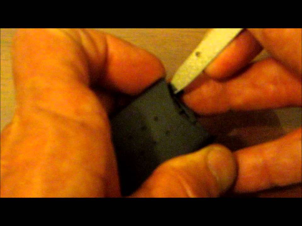 how to change the battery in a mazda 6 key