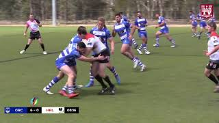 GREEK vs HUNGARY - Rugby League Emerging Nations 2018