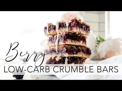 Berry Beauty Boosting Crumble Bars | Starbucks | Keto | Low-carb | Paleo | Collagen