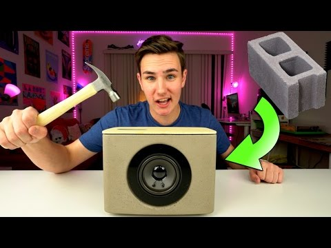 Thumbnail: A Speaker Made of Concrete