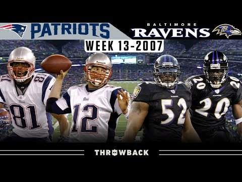 Controversy in the Cold! (Patriots vs. Ravens 2007, Week 13)