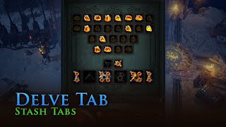 The Delve Stash Tab
