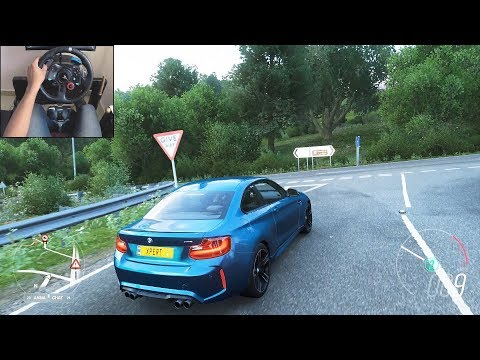BMW M2 - Forza Horizon 4 | Logitech g29 gameplay