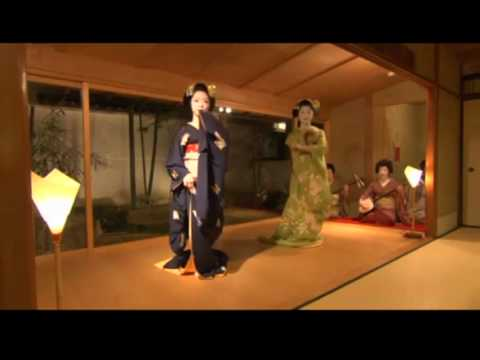 Geisha Sushi Dance & Dinner in Tea House!