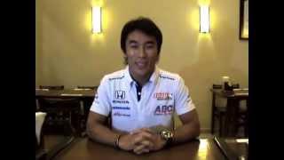 インディカーシリーズで活躍中のスピードレーサー佐藤琢磨さんから、日...