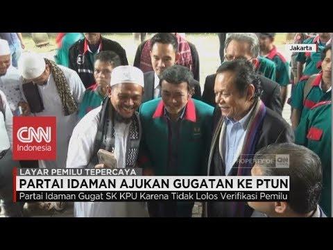 Partainya Rhoma Irama (Partai Idaman)  Ajukan Gugatan ke PTUN