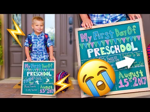 """FIRST DAY OF SCHOOL! ✏️ Adorable """"When I Grow Up"""" Interview 😭"""