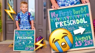 FIRST DAY OF SCHOOL! ✏️ Adorable