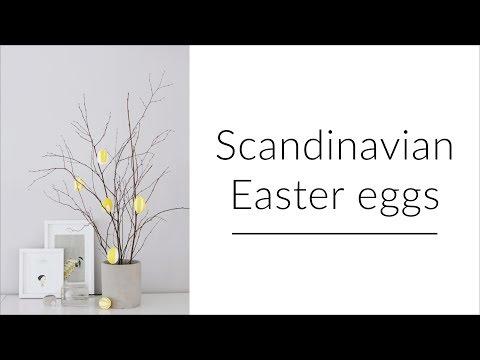 Scandinavian Easter decorations (2018)