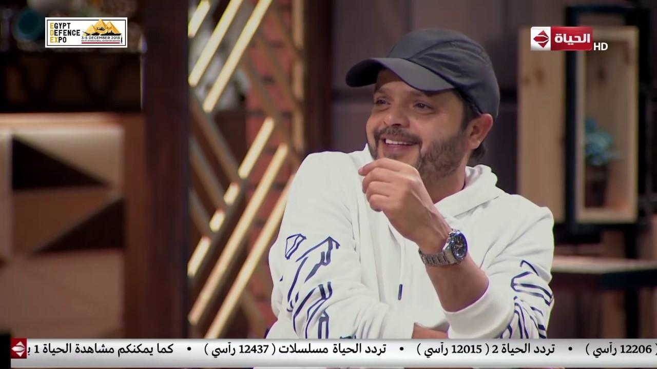 قهوة أشرف - هنيدي يحكي عن ذكرياته مع وحش الشاشة