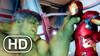 Marvel's Avengers Hulk Vs Iron Man Fight Scene HD