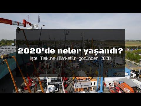 2020'DE İŞ MAKİNELERİ SEKTÖRÜNDE NELER OLDU? İŞTE MAKİNA MARKET'İN GÖZÜNDEN 2020