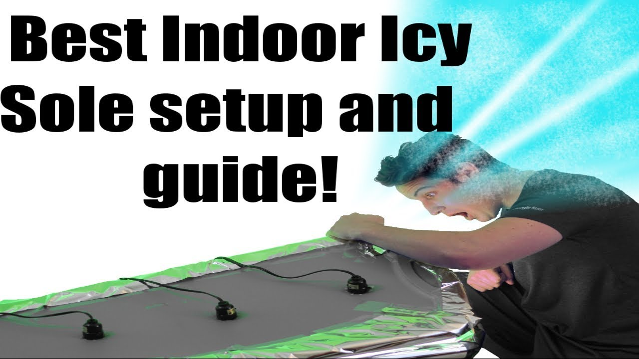 c28c67f9eb2a55 Ice soles indoors  The BEST indoor setup possible! - YouTube