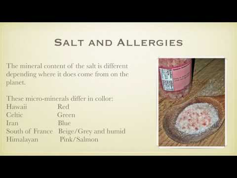 How can simple salt helps your allergies // AllergyGone.ca