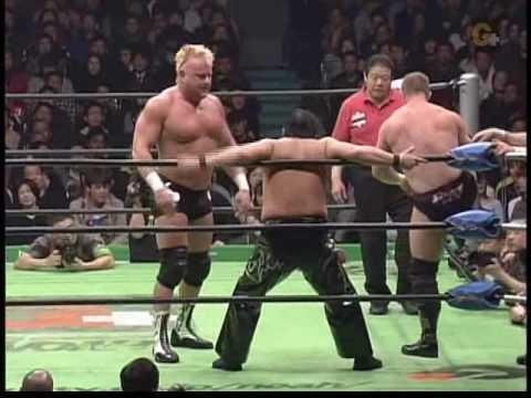Doug Williams/Nigel McGuiness/Bison Smith vs Akitoshi Saito/Kishin Kawabata/Masao Inoue 3/5/06/
