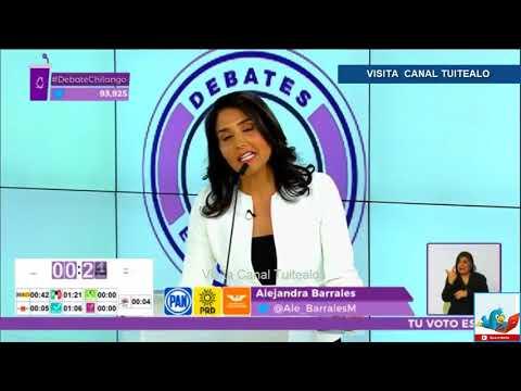 Alejandra Barrales habla del 19S y del colegio Rébsamen Video Debate Chilango