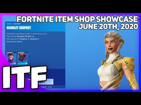Fortnite Item Shop *NEW* A LOT OF STUFF! [June 20th, 2020] (Fortnite Battle Royale)