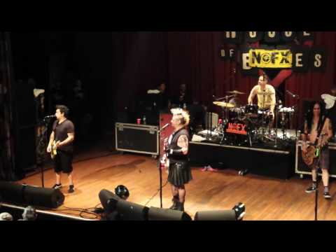 Happy Birthday You're Not Special, Nofx live in Cleveland 11/14/16