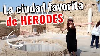 🇮🇱CAESAREA, LA CIUDAD LUJOSA DE HERODES . MEXICANA EN ISRAEL