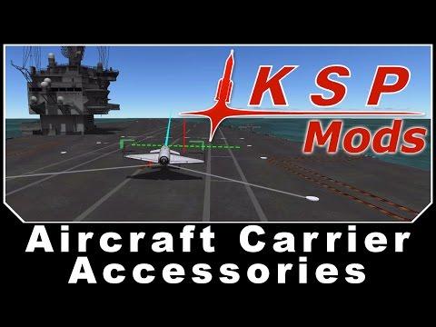KSP Mods - Aircraft Carrier Accessories