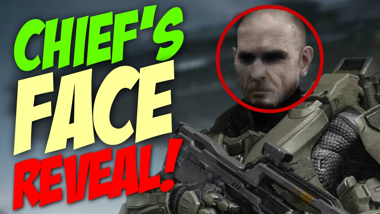 Master Chief S Full Face Reveal In Halo