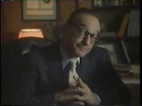 Alan Greenspan 1985 Apple IIC Computer Commercial