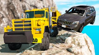 Bandits Chases vs. Truckers crashes #5 - Beamng drive