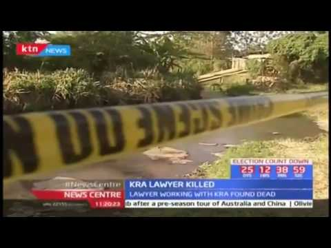 Mombasa based lawyer working with KRA  found dead
