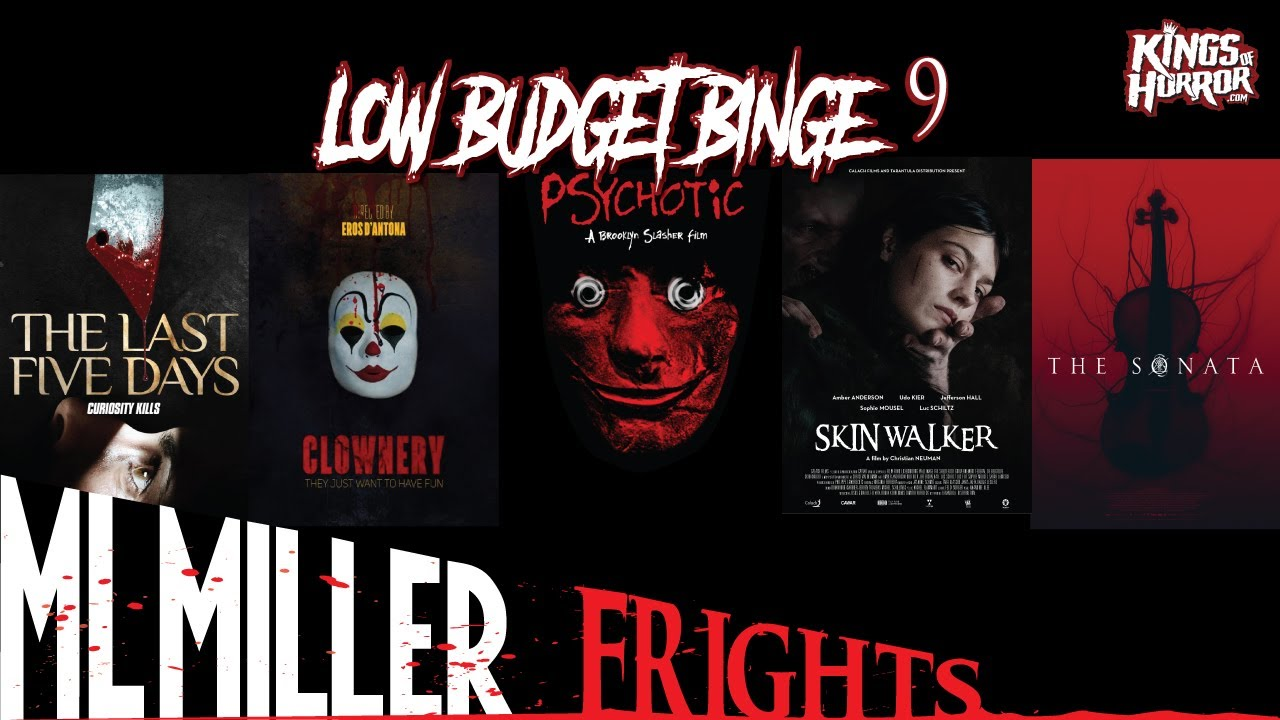 Low Budget Binge looks at recently released low budget, no budget, & independent movies.