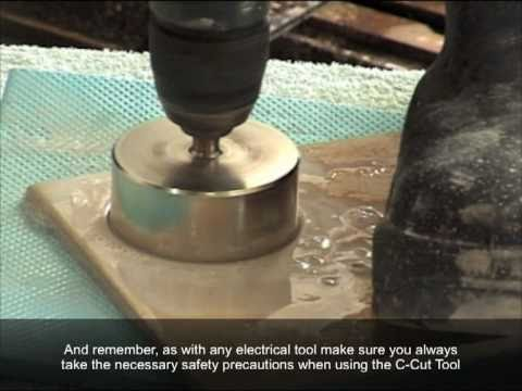 The How To Tile Cutting U0026 Drilling For Tilers When Tiling U0026 Hole Sawing Is  Needed Even For Glass