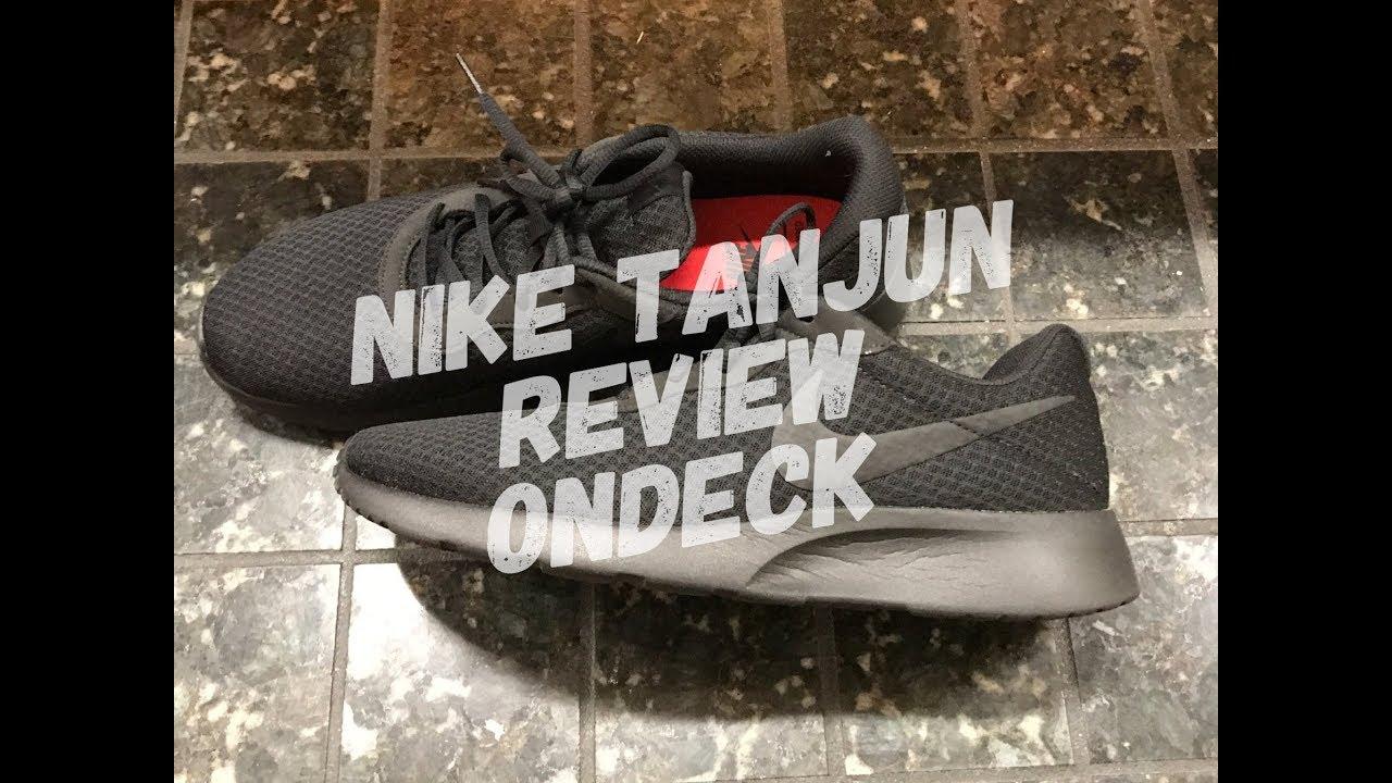 73cd4144cd8a0 Nike Tanjun Review Running Shoe - YouTube