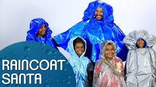 Raincoat Santa - DIY Raincoats for Underprivileged Kids | Blush