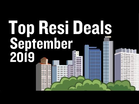 These were September's top 3 residential sales