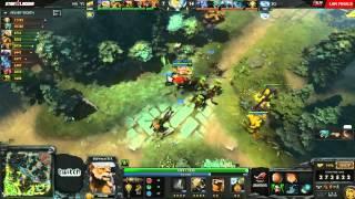 EG vs NaVi - Game 3 (Starladder X LAN - WB Semifinals)