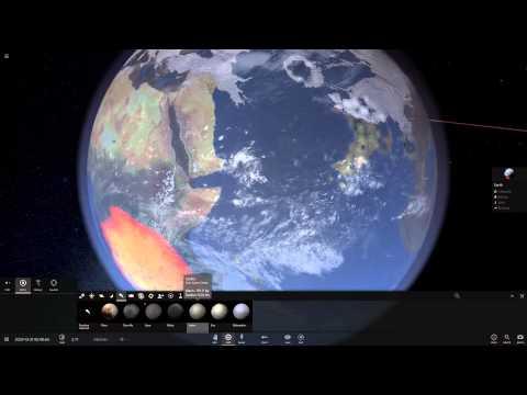Смотр Universe Sandbox 2 Alpha 16. Плюс скачать.