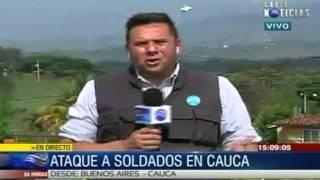 Ascienden a 11 los militares muertos en ataque de las Farc en Cauca