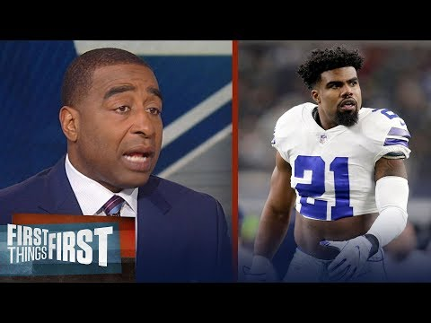 Cris Carter on why Zeke is the key to the Dallas Cowboys next year | NFL | FIRST THINGS FIRST