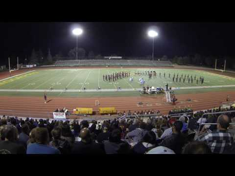 Simi Valley High School Marching Pride 2016 Battle of the Bands at Moorpark