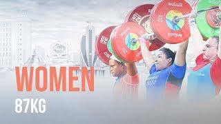 Ashgabat 2018 Highlights | Women 87kg