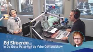 MNM: Peter & Julie interviewen Ed Sheeran
