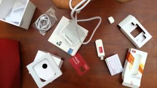 modem 4g orange- déballage et installation pc et mobile