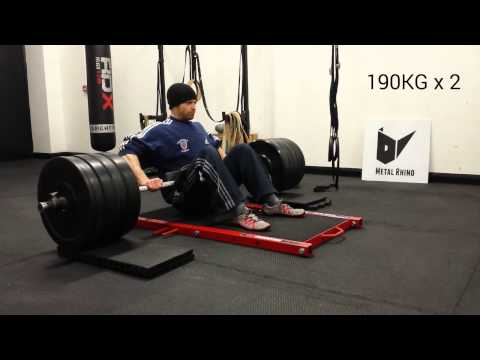 Hip Thruster Hip Thrusts With Metal Rhino