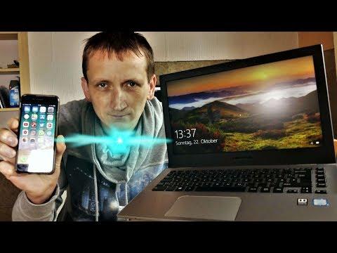 Datenübertragung zwischen einem iOS Gerät und Windows Pc