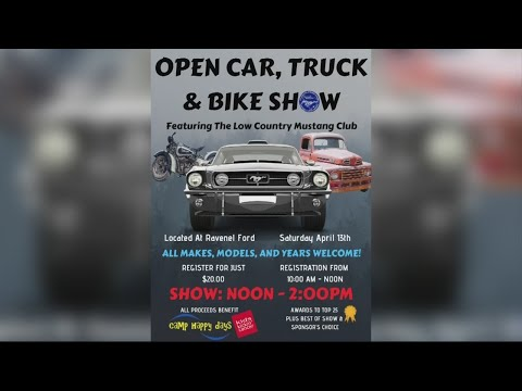 Open car, truck and bike show