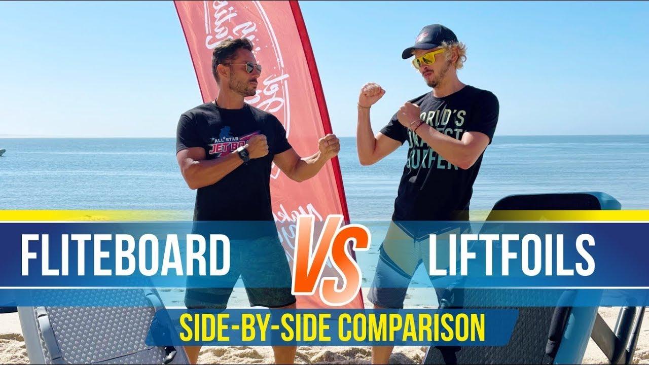 FLITEBOARD 🆚 LIFTFOILS   Unbiased Side By Side Comparison   Best efoil?