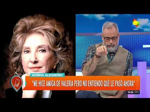 Norma Aleandro se metió en la polémica entre Valeria Bertuccelli y Ricardo Darín